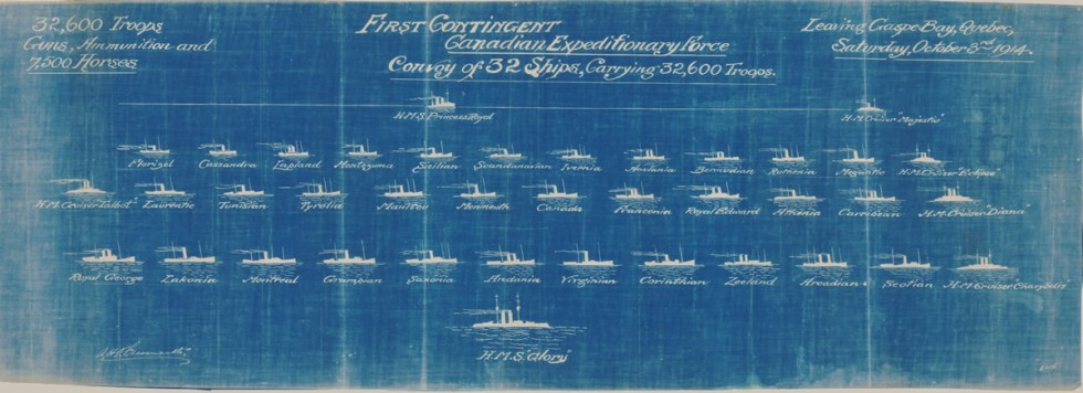 FIRST CONTINGENT CANADIAN EXPEDITIONARY FORCE