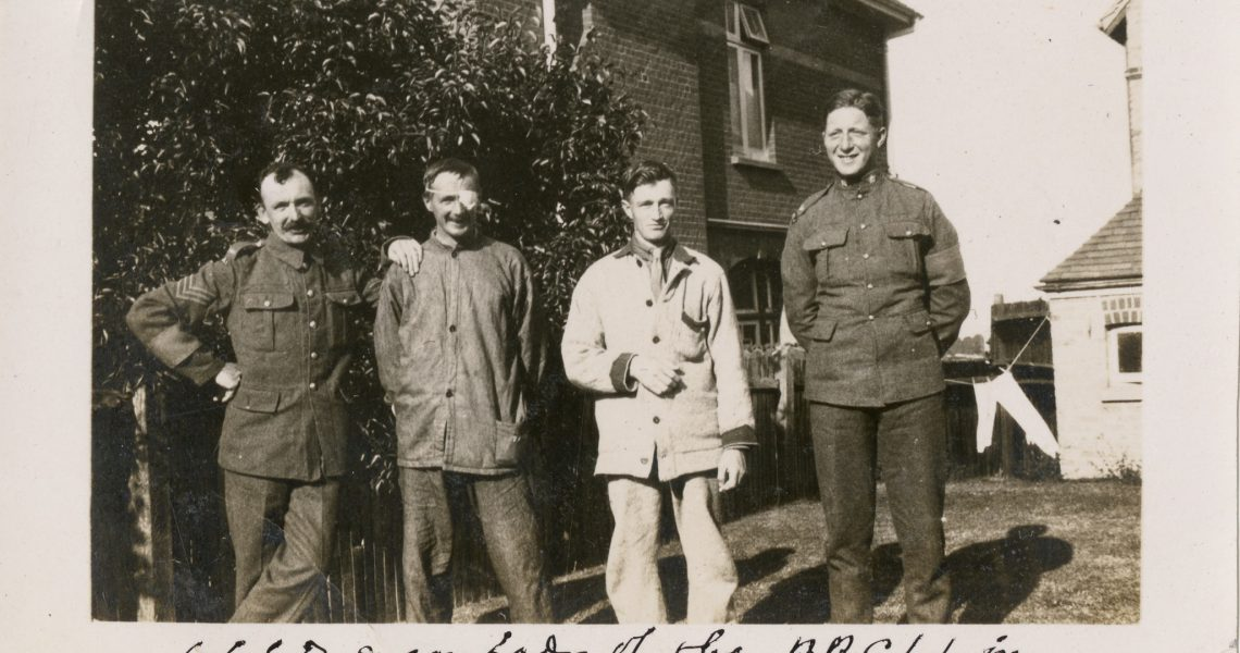 Draycott at Ramsgate Hospital 1917