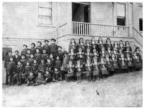 St. Paul's Residential School 1905. NVMA 4839