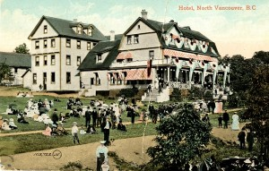 Hotel North Vancouver 1900s. NVMA 95