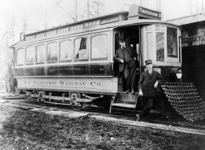 BC Electric Railway Streetcar No. 40, 1909 NVMA 344