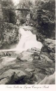 Twin Falls Lynn Canyon Park. NVMA 11175