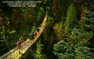 Capilano Suspenson Bridge. NVMA 2136
