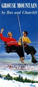 Grouse Mountain Brochure 1955. NVMA 1955-4