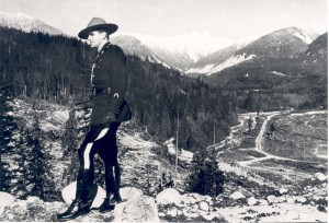 Constable Scott near Cleveland Dam Site 1951. NVMA 7514