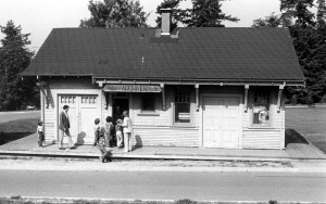 PGE Railway Station as Museum 1975. NVMA 11756