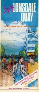 Lonsdale Quay Pamphlet 1985. NVMA 1985-24.