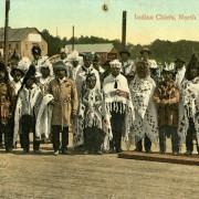 Coast Salish leaders,1908. NVMA 15860