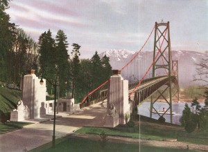 Lions Gate Bridge Souvenir Pamphlet 1939. NVMA 1939-5.