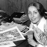 Lynn Johnston, Cartoonist. NVMA 5537.
