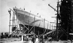 Wallace Shipyards 1916. NVMA 3149