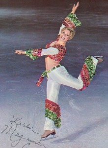 Karen Magnussen ice skating