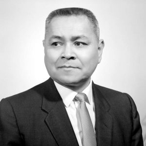 Frank Calder founded the Nisga'a Tribal Council in 1955 and fought for First Nations land claims in the court case that eventually went to the Supreme Court of Canada. Photo: BC Archives i-32431 141.