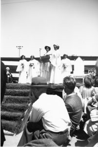 May Queen Ceremony, 1950(?). NVMA Item 15206.