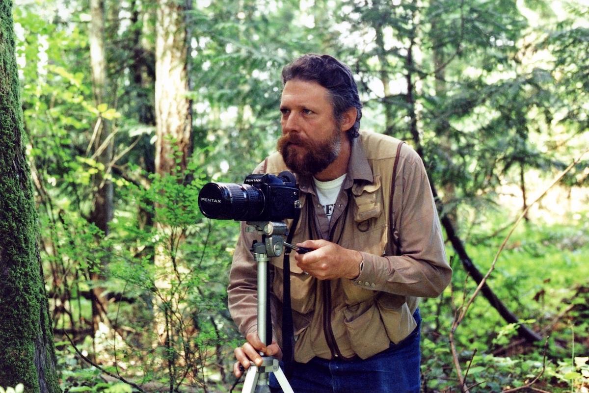 Photographer, Bruce Flanagan, 1993. Fonds 160-39.