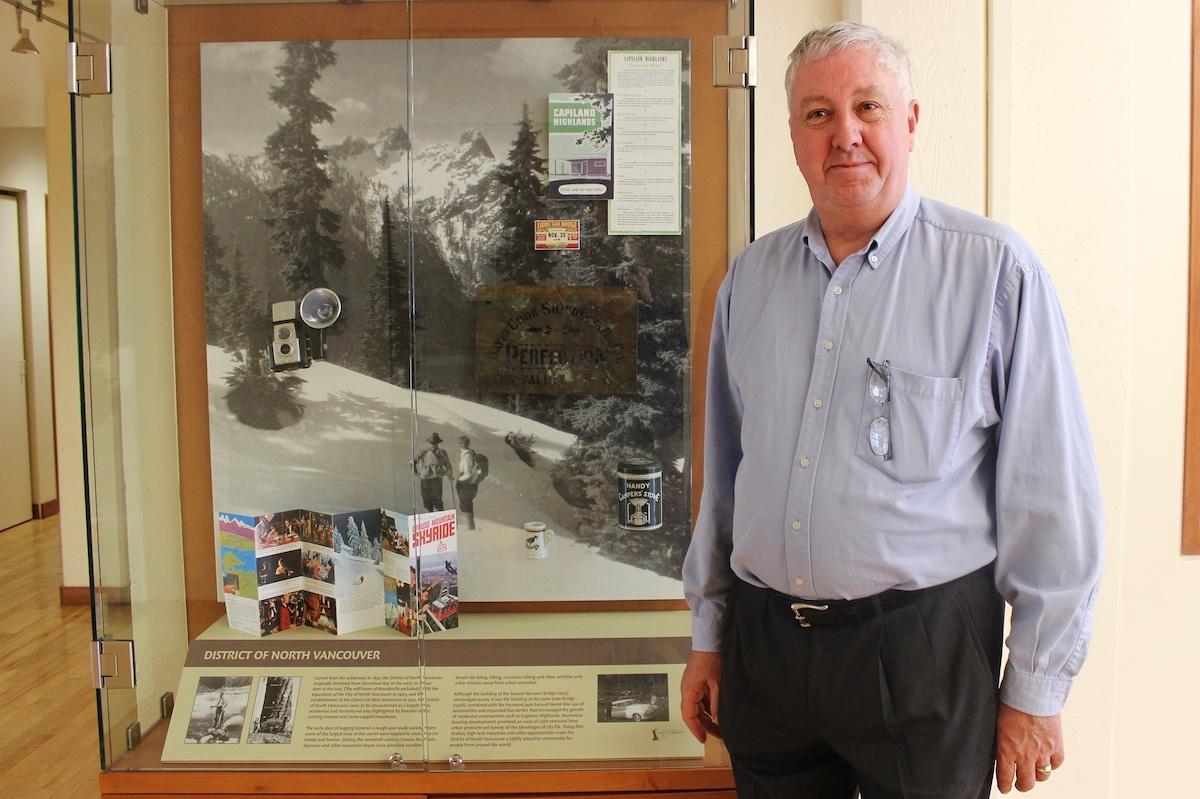 Mount Seymour resident, Alex Douglas, 2015. Fonds 201, Voices and Views, AD.002.