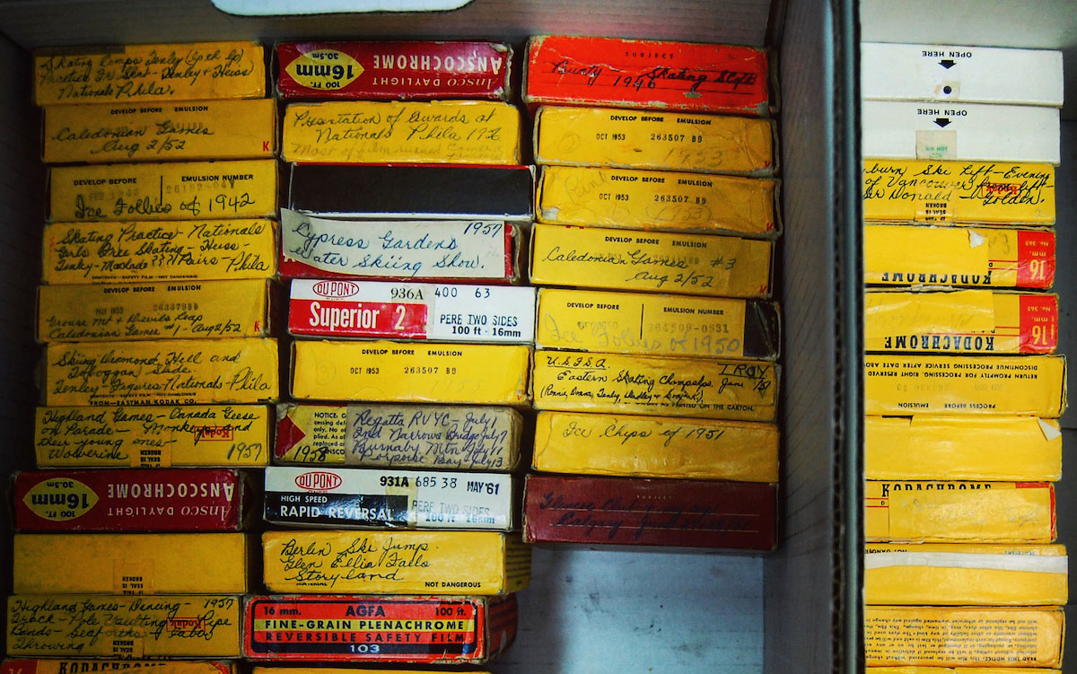 Home Movie Day is an online museum video compilation of some of the Archives of North Vancouver's collection of home movies. Includes tips from local moving image archivist, Colin Preston. Photo: C.Hagemoen