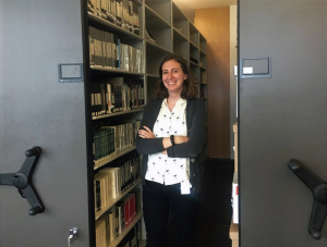 Archives and Community Engagement Intern, Nina Patterson.