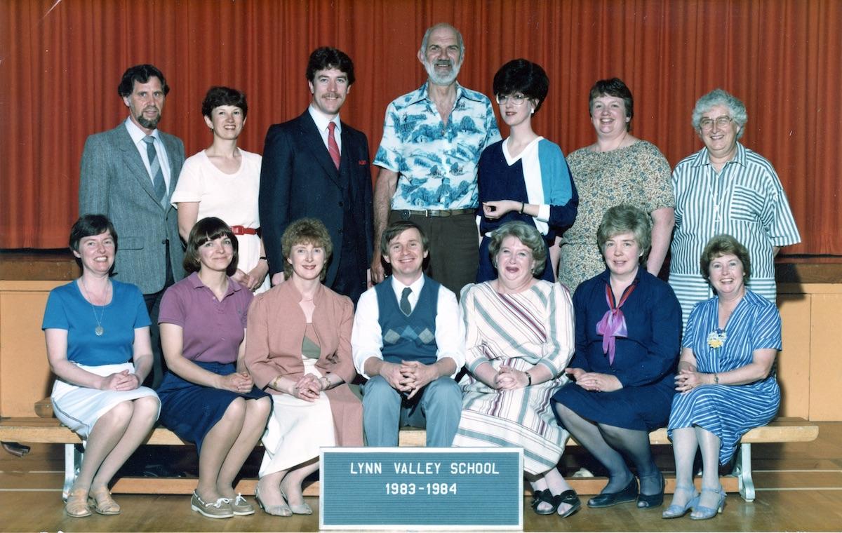Lynn Valley Elementary School Teachers, 1983-1984. Photo: Fonds 158-9-2, File 13.