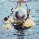 Phil Nuytten in wet suit, c. 1990s. Photo: NVMA 14943